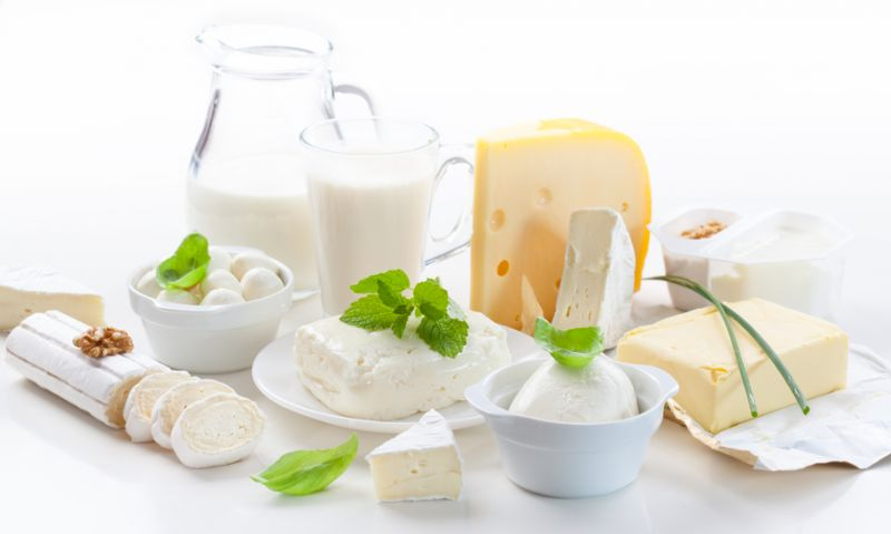 Eat milk and dairy as a balanced diet