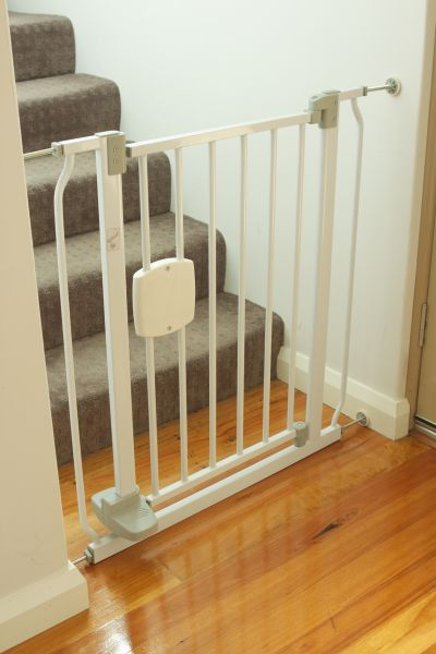 stair guard for baby safety on stairs
